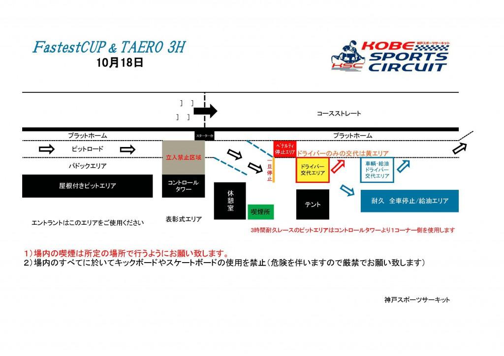 Fastest&TAEROピット図